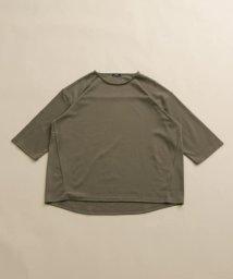 ITEMS URBANRESEARCH/7分袖TCポンチビックTシャツ/503130610
