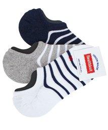 TopIsm/Healthknit(ヘルスニット)3足セット靴下ショートソックス/502027576