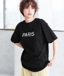 fifth/PARISロゴオーバーサイズTシャツ/503117686