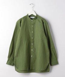 green label relaxing/SC WASHI ローン ロング バンド 長袖 シャツ/503118213