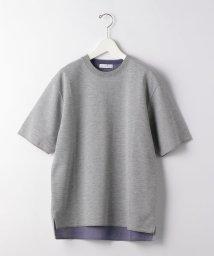 green label relaxing/CSM ダブルフェイス クルーネック 半袖 カットソー Tシャツ/503118215