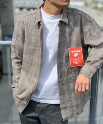 "FREDYMAC/【FREDYMAC ""SUNDAY TOOLS WEAR""】レギュラーカラーシャツ / デニムシャツ / ビッグシルエット/503120208"