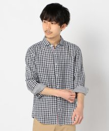 GLOSTER/フレンチリネンパラシュート7分袖シャツ / リネンシャツ / 羽織り / 麻/503120210