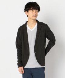 GLOSTER/リネン混 ラペルカーディガン / ジャケット / カーディガン / 羽織り/503120211