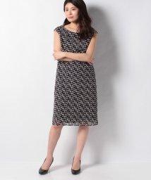 MISS J/ブロックケミカルレース セミタイトドレス/503122450