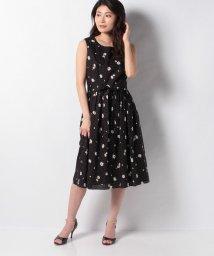 MISS J/フラワーローン リボンベルト付きドレス/503122451