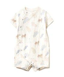 gelato pique Kids&Baby/【旭山動物園】ペイントアニマルモチーフ baby ロンパース/503131631