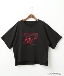 DOUBLE NAME/MARVEL HAND DRAWN TEE/503133015
