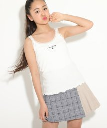 PINK-latte/★ニコラ掲載★ロゴレースキャミソール/503133914
