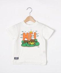 SHOO・LA・RUE(Kids) /【110-130cm】MEI×cleofus プリントクルーネックTシャツ/503134014
