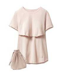 gelato pique/マタニティリブ授乳Tシャツ/503134102