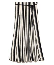 Mila Owen/マルチカラーリップルニットスカート/503134194