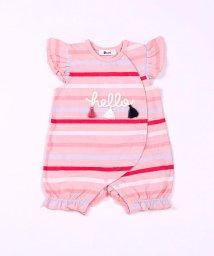 e-baby/天竺マルチボーダーロンパース/503049643