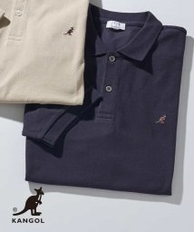 a.v.v (MEN)/KANGOL/カンゴール 刺繍ワイドシルエットポロシャツ[WEB限定サイズ]/503066909