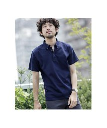 nano・universe/《WEB限定》カラーコンビネーションBDポロシャツ/503105810