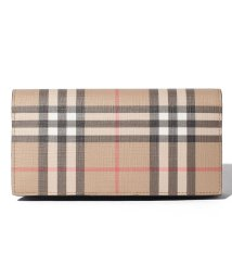BURBERRY/【Burberry】Vintage Check E Canvas Continental Wallet/503109079