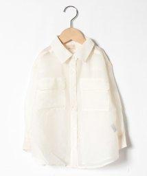 petit main/シースルーシャツ/503109427