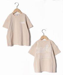 X-girl Stages/バックメッセージロゴプリントTシャツ/503109440