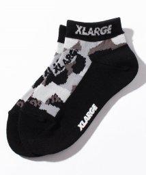 XLARGE KIDS/迷彩柄ロゴソックス/503109447