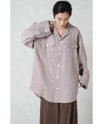 ROSE BUD/リネンシャツジャケット/503134797