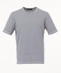 gotairiku/【FIRMAR】 ZEROコットン ハイゲージボーダーTシャツ/503135134