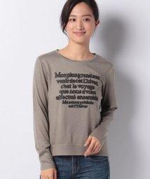 CARA O CRUZ/メッセージTシャツ/502590677