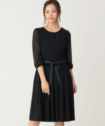 TO BE CHIC/【WEB限定】【Tricolore】スーピマコットンポンチワンピース/503077703