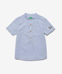 BENETTON (UNITED COLORS OF BENETTON BOYS)/スタンドカラーシープアップリケシャツ/503121787
