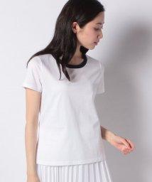 MADAM JOCONDE/【アンサンブル対応】コンパクトコットンクールローレル天竺 クールネックTシャツ/503129591