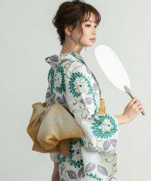 titivate/[浴衣+帯セット]綿麻生地菊柄/503135795