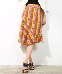 ROPE' mademoiselle/【shogo sekine】プリントランダムパターンタイトスカート/500539439