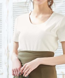 KOBE LETTUCE/前身二重半袖Tシャツ(Uネック)/502546146