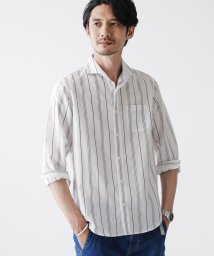 nano・universe/FLOW LINEN カッタウェイシャツ バリエーション/503095716