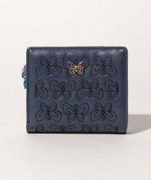 ANNA SUI BAG/エターナルバタフライ Lファスナー二つ折り財布/503117751