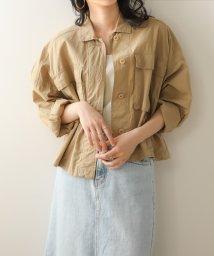 Bou Jeloud/【WEB限定】ヴィンテージ加工ショートジャケット/503125010