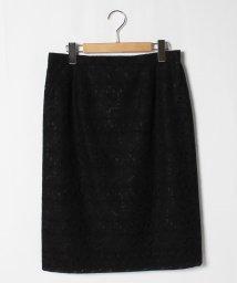 GUEST JOCONDE/【大きいサイズ】花柄刺繍スカート/503132930