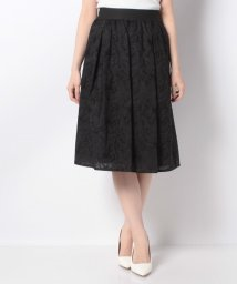 MISS J/コットンフラワー刺繍スカート/503132967