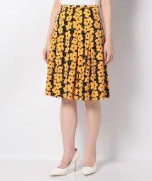 MISS J/【洗える】フラワープリントジャージースカート/503132968