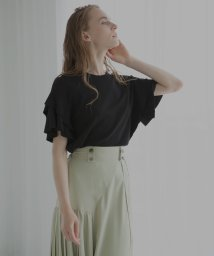 MIELIINVARIANT/Raffle Shoulder Top/503133095
