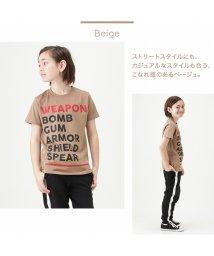MAC HOUSE(kid's)/T-GRAPHICS ティーグラフィックス ボーイズ USAコットン シンプルロゴTシャツ 20254801/503137800