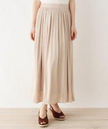 OPAQUE.CLIP/【洗える・42(LL)WEB限定サイズ】ヴィンテージサテンスカート/503138243