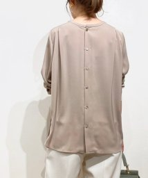 le.coeur blanc OUTLET/ノーカラー2WAYブラウス/503139540