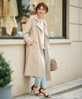 le.coeur blanc OUTLET/リラックストレンチコート/503139544