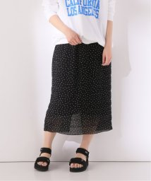 Spick & Span/シャーリングドットIラインスカート/503139569