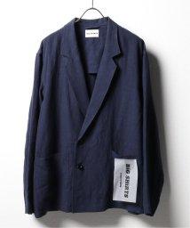 417 EDIFICE/【BIG SHIRTS / ビックシャツ】 LINEN DOUBLE BREASTED JK/503139602