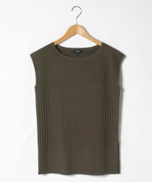 Theory/トップス CREPE KNIT PLEATED PULLOV/502843652