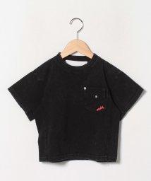 X-girl Stages/色落ち加工胸ポケットTシャツ/503123824