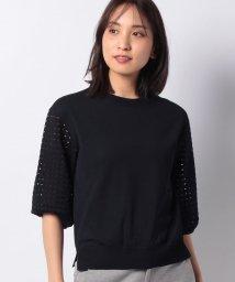MADAM JOCONDE/SONA 袖透かしニットプルオーバー/503133899