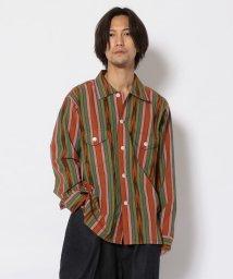 BEAVER/SOUTH2 WEST8/サウスツーウエストエイト Smokey shirt-CottonCloth/Ikatpattern シャツ/503139933