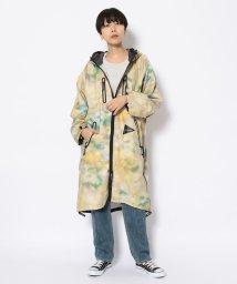 BEAVER/andwander/アンドワンダー printed fly rain long coat プリントフライレインロングコート/503139945